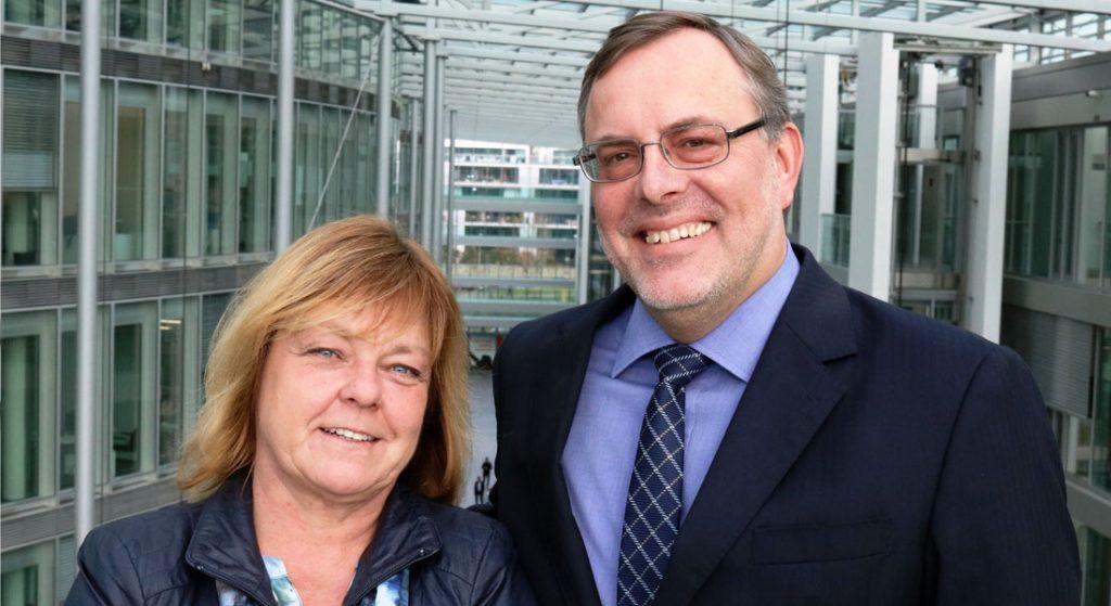 Judith Gallinat-Pichl und Dr. Michael Scheren